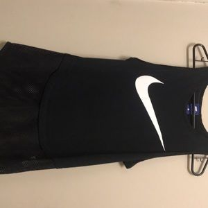 Nike jersey shirt black womens size M